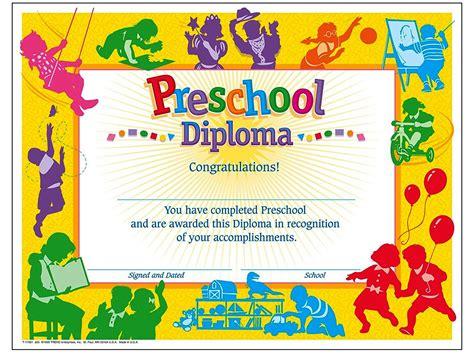 kindergarten certificate template preschool diploma certificate template best