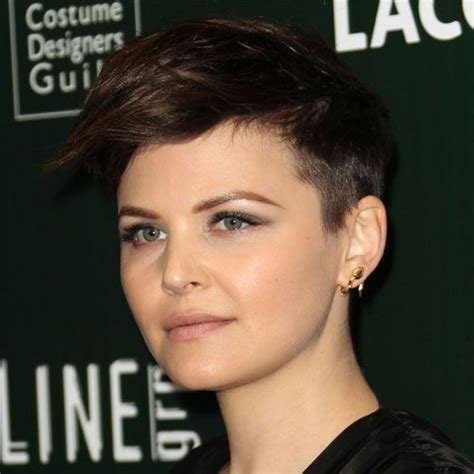 shaved sides haircut square face 54 celebrity short hairstyles that make you say quot wow quot