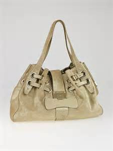 Jimmy Choo Ramona Metallic Leather Handbag by Jimmy Choo Metallic Gold Suede Ramona Tote Bag Yoogi S