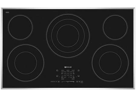 jenn air radiant cooktop jenn air 36 quot electric radiant cooktop jec4536bs