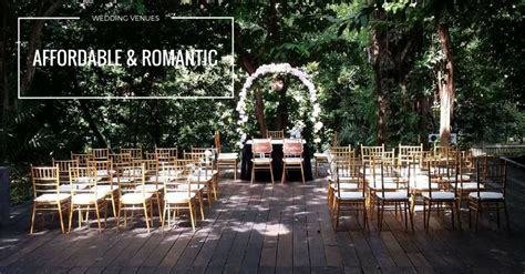 wedding venues in on a budget 2 8 but affordable wedding venues in singapore 10k