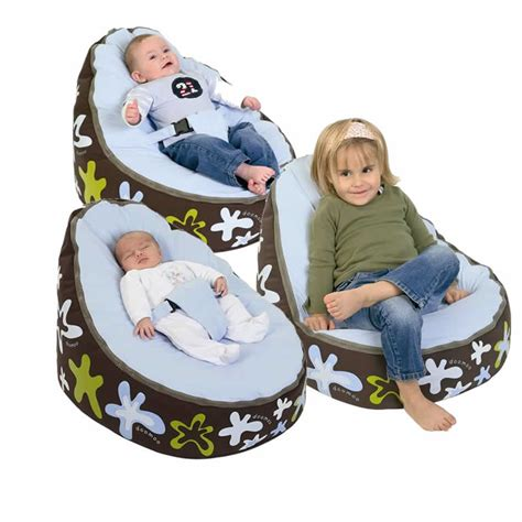 Baby Bean Bag Chair by Doomoo Seat Home Newborn Deluxe Baby Bean Bag Various