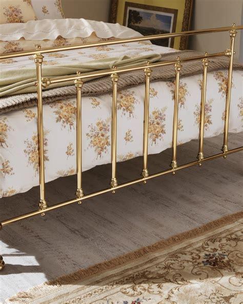 King Size Brass Bed Frame Serene Benjamin 5ft King Size Brass Metal Bed Frame By Serene Furnishings