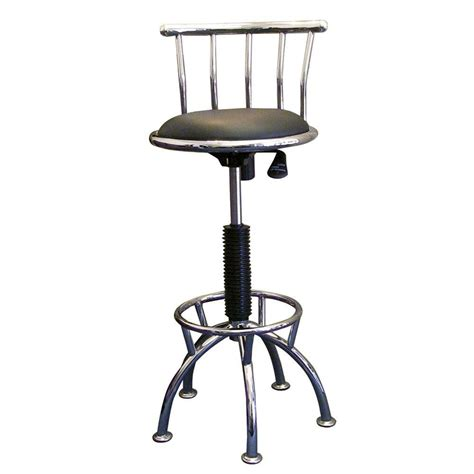 home decorators collection bar stools home decorators collection adjustable height chrome swivel