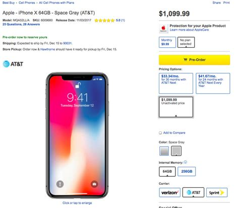 best buy s iphone x will cost 100 more because it offers quot flexibility quot neowin