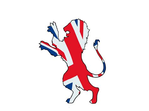 british lion tattoo designs loin flag lawas