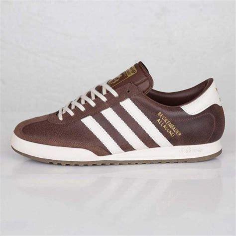 adidas beckenbauer allround brown shoes