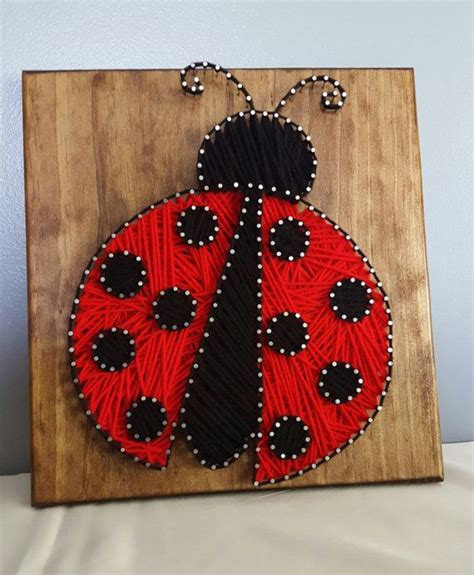 String Arts And Crafts - best 20 ladybug crafts ideas on bug crafts
