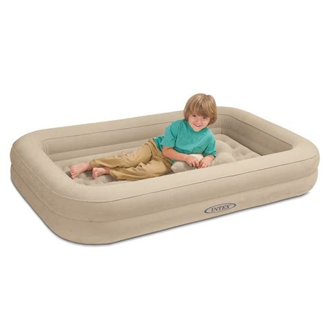 blow up toddler bed image gallery inflatable toddler travel bed