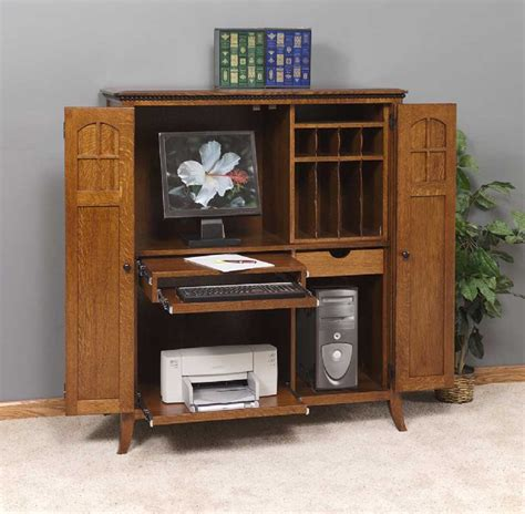 office armoire furniture corner computer armoires for small space