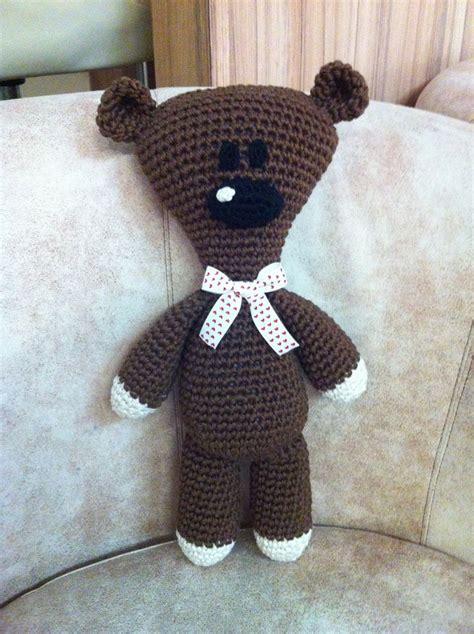 Boneka Mr Bean By Decent Crochet mr bean s teddy amigurumi design by milena jovicic