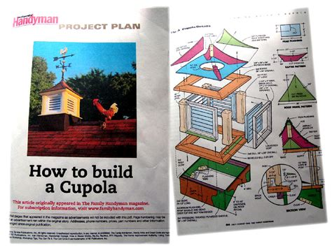 How To Build A Simple Cupola The Cupola House Farm Garden