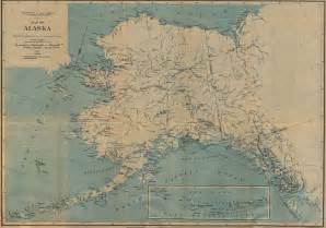 alaska map united states 1917 size