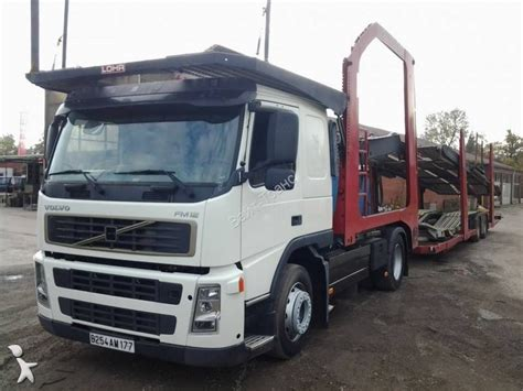 used volvo tractor trailers used volvo fm12 car carrier tractor trailer 340 3 n