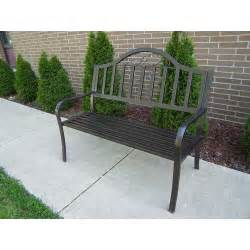 Walmart Patio Bench by Rochester Bench Walmart Com