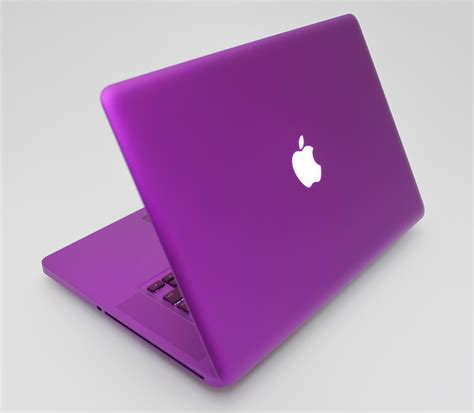 Laptop Apple Purple purple macbook pro back doobybrain
