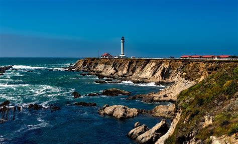 Light California by Free Photo Point Arena Lighthouse Light Free Image On