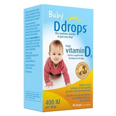 vitamin d supplement for infants ddrops baby vitamin d3 400iu walgreens