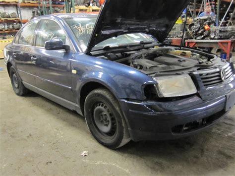 1999 volkswagen passat parts parting out 1999 volkswagen passat stock 100796 tom