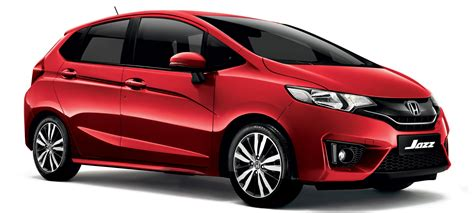honda jazz now available in carnival red all variants