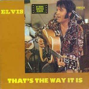 elvis presley ive lost you thats the way it is 1970 elvis presley that s the way it is an original