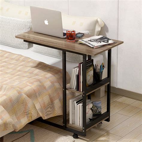 bed desk small bookshelf table changing products
