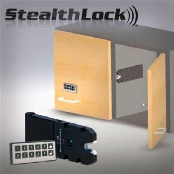 Alarm E Lock Stealth stealthlock concealed cabinet and drawer wireless locking