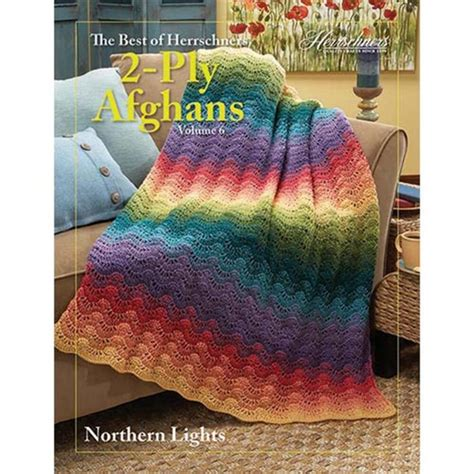 northern lights the six series volume 6 books best of herrschners 2 ply afghans vol 6 crochet book
