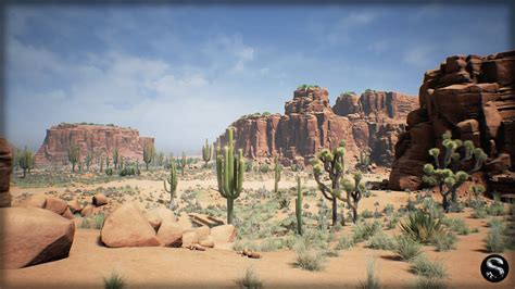 desert pack by silvertm in environments ue4 marketplace