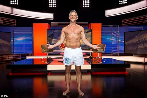 Was It Fair That Used His Shorts As A Pattern On Project Runway Last by Gary Lineker Presents Match Of The Day In His