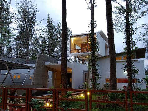 modern open concept house  bangalore idesignarch