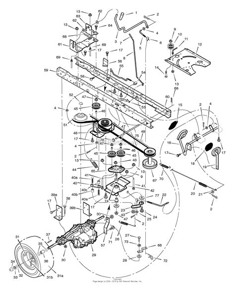 wiring diagram for murray lawn mower 43 wiring