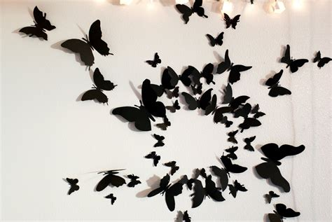 Home Decor Butterflies by The Butterfly Wall Decor Effect Goodworksfurniture