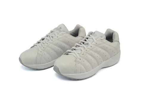 answer2 557 3 white mens walking comfort shoe orthotic shop