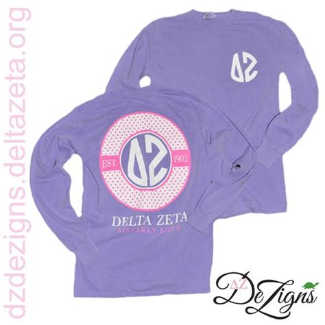 zeta colors colors sleeve and delta zeta on