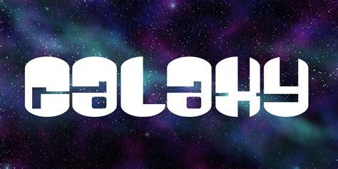 galaxy font  fonts