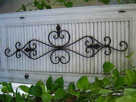 large wrought iron wall decor decor ideas