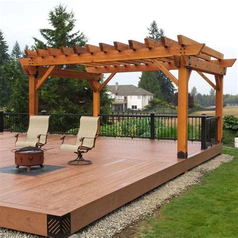 44 Best Images About Deck Or Patio Ideas On Pinterest Pergola Post Base