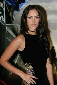linney feathered hair megan fox transformers premiere photo 462411 josh