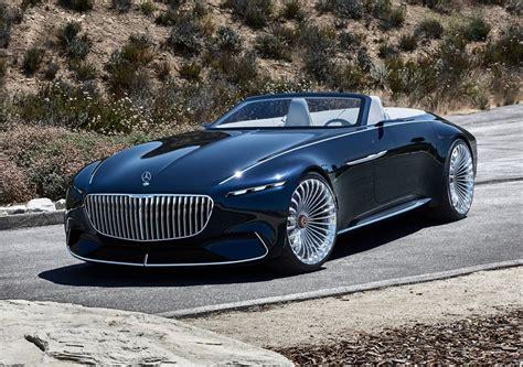 maybach mercedes concept mercedes vision maybach 6 cabriolet concept 2017 фото