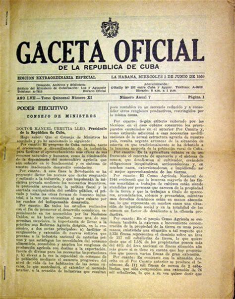 la republica edition books gaceta oficial de la republica de cuba edicion