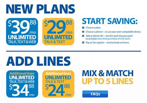 4 Phone Family Plan Lowest Price Rate Plan Walmart Family Mobile Laugh With Us
