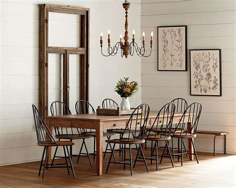 Primitive Dining Room Furniture by Keeping Table Dining Room Magnolia Home