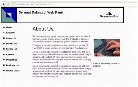 membuat website dengan file zilla sharpe eyes cara membuat website di ms publisher 2003