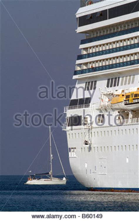 boat comparison cruise ships size contrast comparison large small tall