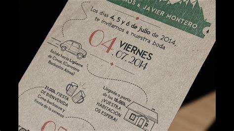 como imprimir tarjetas de invitacion en fotos tarjetas de invitacion para bodas para imprimir youtube