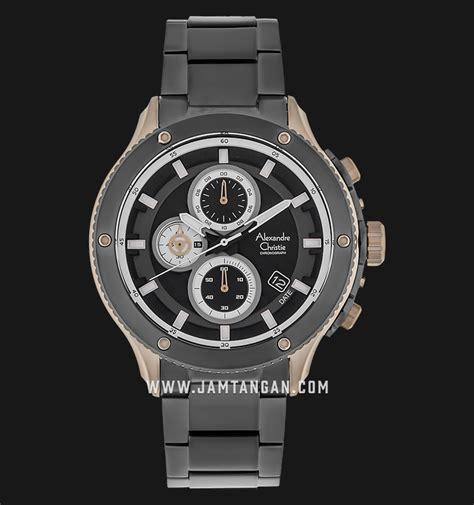 Jam Tangan Alexandre Christie Chronograph 5 Atm alexandre christie ac 6489 mc bgcba chronograph black