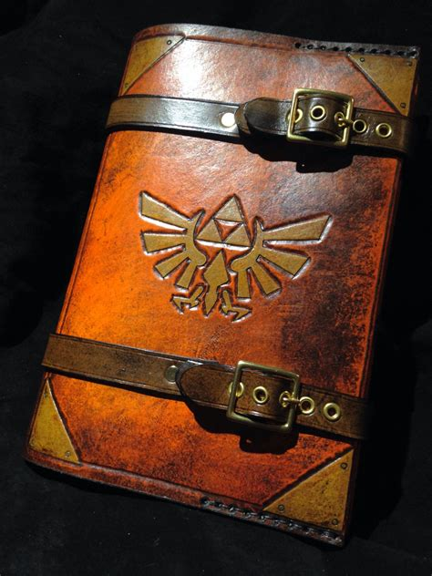 Nvouspcs New 121 Inch Laptop With Custom Paint by Leather Triforce Journal Day Planner Book Cover