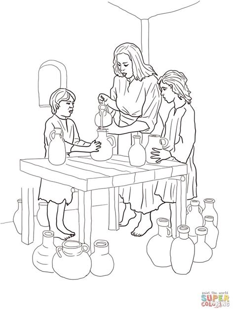 coloring page for elijah and the widow 13 elisha helps widow coloring page jpg 1 200 215 1 600 pixels