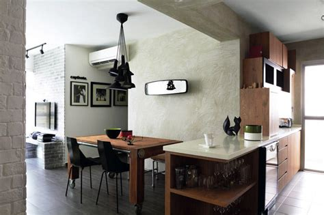 singapore home decor cosy 4 room hdb flat with an industrial touch home